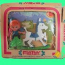 FLATSY vintage DOLL filly HORSE flat DOLLS in BOX original PACKAGE