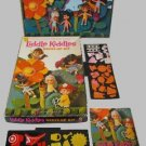 LIDDLE kiddle KIDDLES old paper DOLL playset COLORFORMS