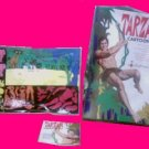 TARZAN game paper doll VINTAGE play set toy COLORFORMS