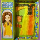 BLYTHE kenner DOLL boutique VINTAGE golden 1972 goddess OUTFIT playset set on IN original PACKAGE