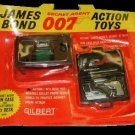 BOND james card GUN case gilbert DESK bullet on PLAYSET