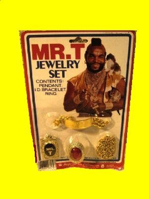 mr t costume jewelry clubber a team carded lang playset