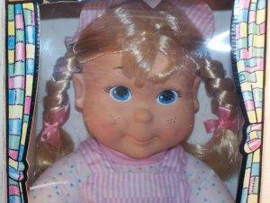 KID SISTER a true friend sis of MY BUDDY blonde IN playhouse BOX real vintage DOLL