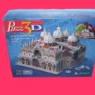BASILICA of ST saint MARK marks puzz 3D 3 d venice italy SEALED wrebbit PUZZLE
