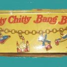 CHITTY chitty BANG bang VINTAGE on CHARM card BRACELET