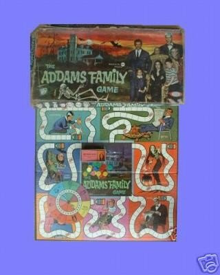 ADDAMS adams FAMILY the VINTAGE ideal BOARD lurch GAME
