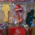 CHRISTMAS STORY the a LEG LAMP logo sign COOKIE CUTTER new STRESS BALL oh fudge 'soap' FREE ship LOT