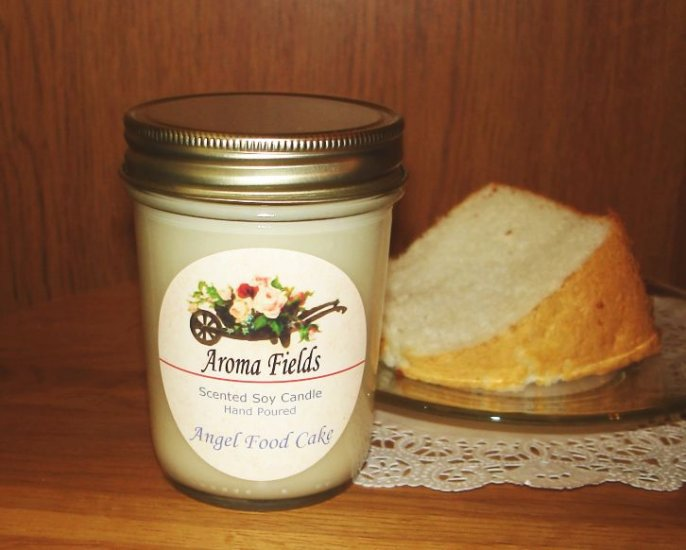 Angel Food Cake - Highly Scented Soy Candle