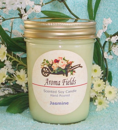 Jasmine - Highly Scented Soy Candle