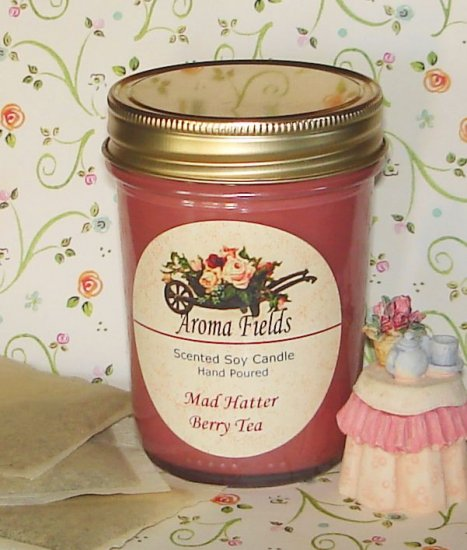 Mad Hatter Berry Tea - Highly Scented Soy Candle