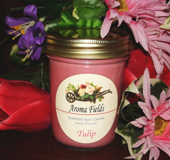 Tulip - Highly Scented Soy Candle