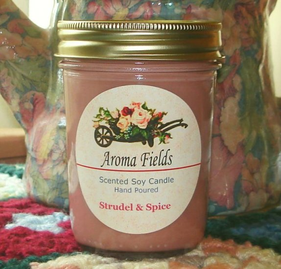 Strudel & Spice - Highly Scented Soy Candle