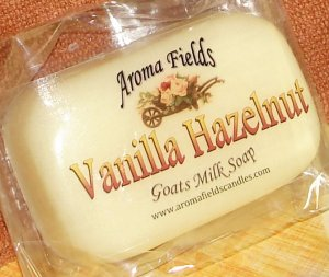Vanilla Hazelnut - All Natural Goat Milk Soap