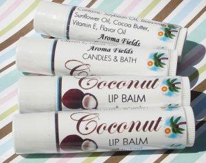 Natural Luscious Lip Balm - Coconut