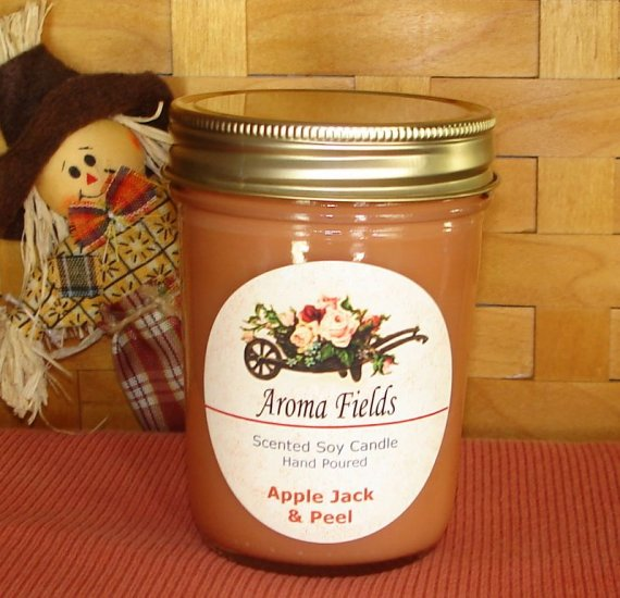 Apple Jack & Peel - Highly Scented Soy Candle