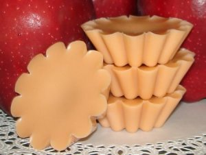 Caramel Apple - 4 Highly Scented Soy Wax Tarts
