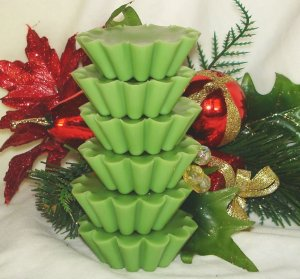 Mistletoe - 4 Highly Scented Soy Wax Tarts