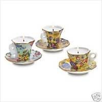 Teatime 3 Candle Set