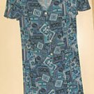 Ladies Caroline Wells Short Culotte Dress- size small