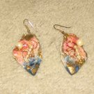 Costume Jewelry Faux Pearl & Painted Earrings for Pierced Ears