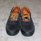 Ladies Heather Blue Suede Bass Shoes size 7M