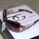 New 2015 DG337 Brown, Gold Fashion Sunglasses FREE SHIPPING!!