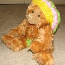 "Plush Honey 20"" Teddy Bear w Custom Crocheted Outfit"
