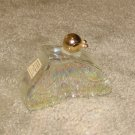 "Vintage 1970's Glass 3 1/2"" Butterfly Collectible Avon Bottle"