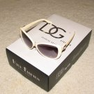 NEW 2015 DG1137  Ladies Womens Tan with Silver Fashion Sunglasses FREE SHIPPING!