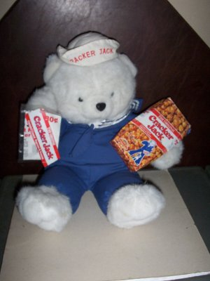 Cracker Jack Bear with Tags