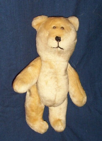 Cream Teddy Bear with Button Joints