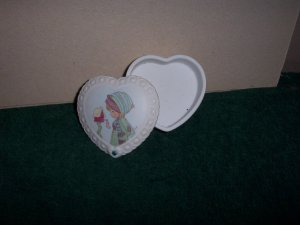 Precious Moments December Ring Box with Birth Stone