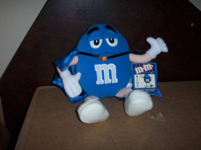 Big Blue M and M  2001Plush