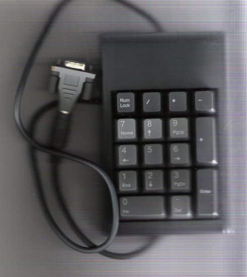 PC Concepts 10 Key Pad with Adapter