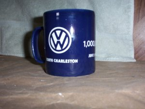 V W Millionth Sold Mug