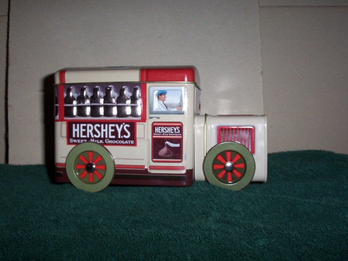 Hersheys Sweet Milk Chocolate Train Tin