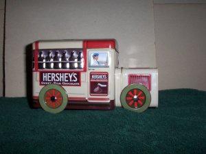 Hersheys Sweet Milk Chocolate Train Tin