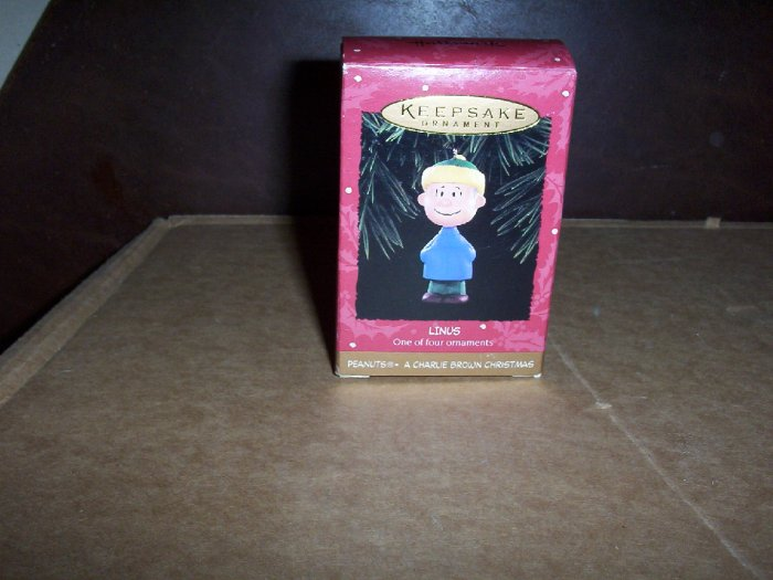 Linus Keepsake Ornament