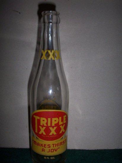 Triple XXX Soda Bottle