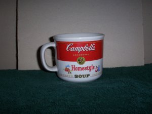 Pair of Homestyle Campbells Soup Mugs
