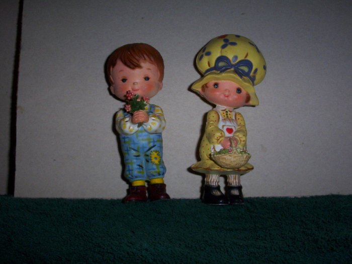 Pair of Holly Hobby Plastic Dolls