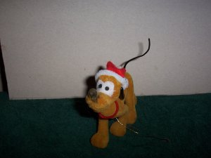Pluto Christmas Ornament
