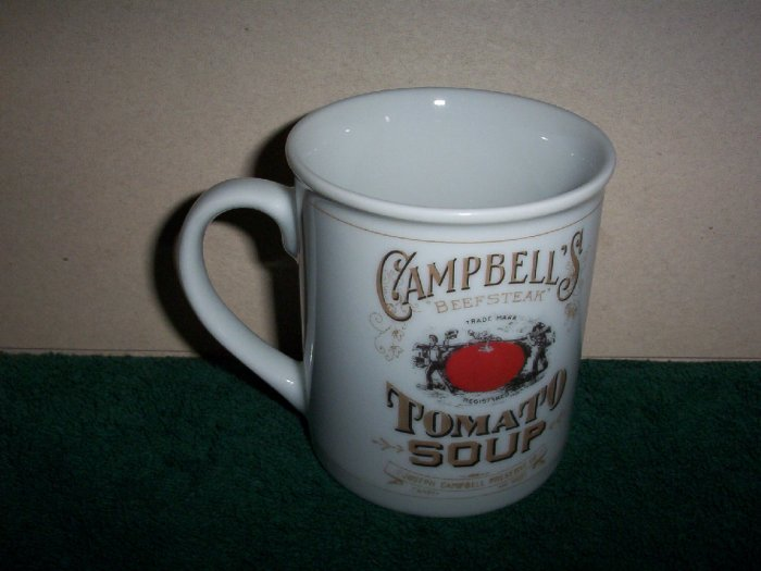 Campbells Tomato Soup Commerative Mug