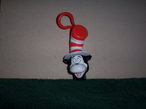 Cat in the Hat Key Chain