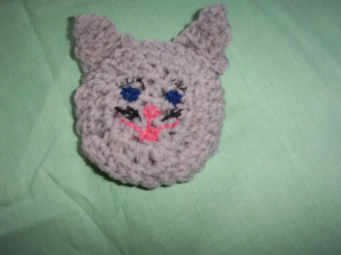Light Grey Kitty Catnip Critter