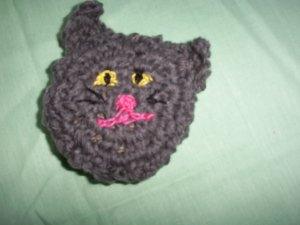Lil Grey Kitty Catnip Cutie