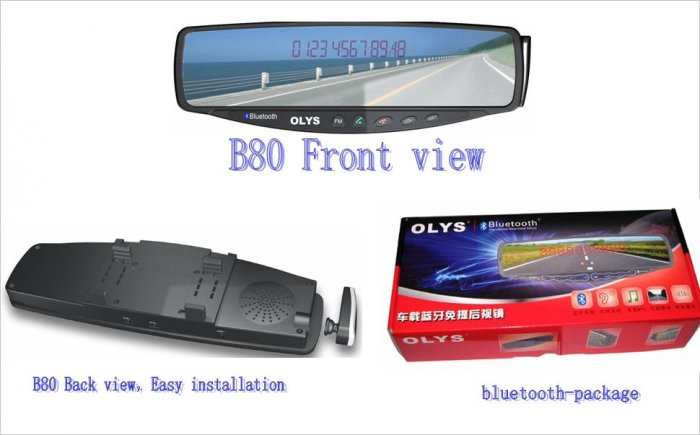 OLYS B80 car Bluetooth hands-free Products