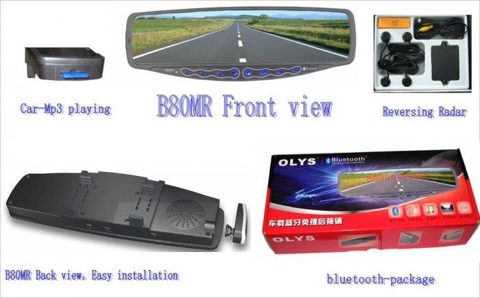 OLYS B80-MR car Bluetooth hands-free Products