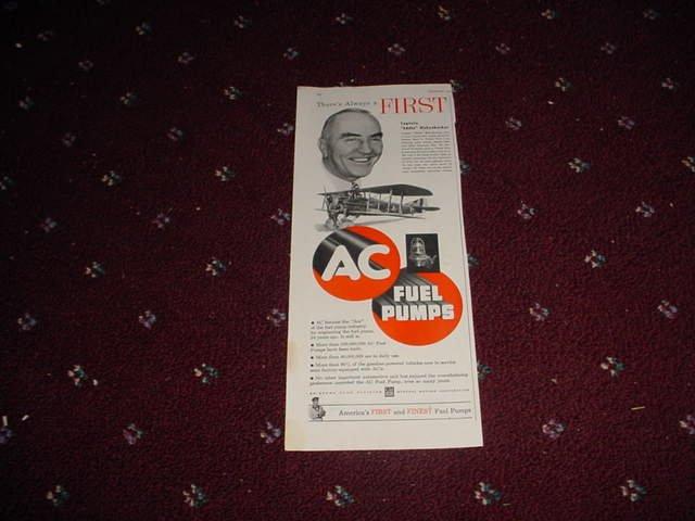 1951 AC Fuel Pump ad