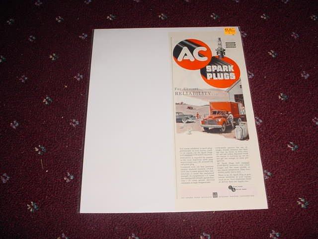 1951 AC Spark Plug ad #2